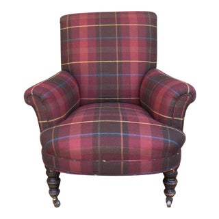 Ralph Lauren Upholstered English Country Chair