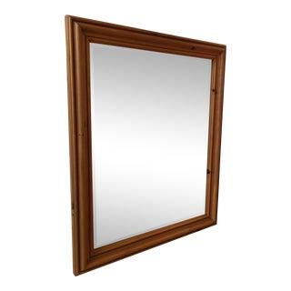Thomasville Pine Beveled Mirror For Sale