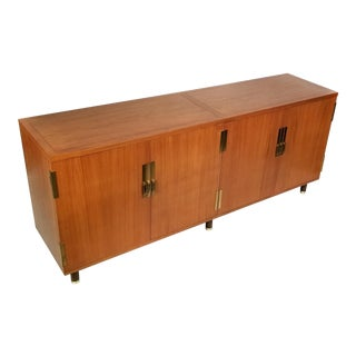 Mid-Century Mahogany Credenza by Michael Taylor for Baker For Sale