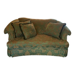 Century Skirted Sofa
