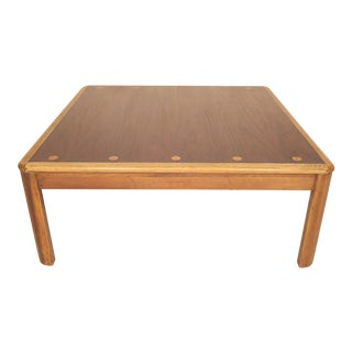 Lane Table With Inlay For Sale