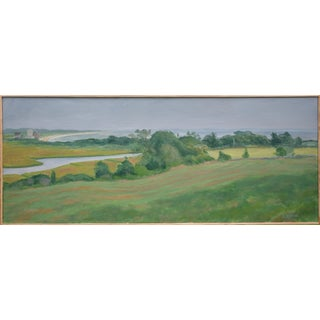 """""""Nature's Rhythm"""" Contemporary Landscape Acrylic Painting by Stephen Remick, Framed For Sale"""