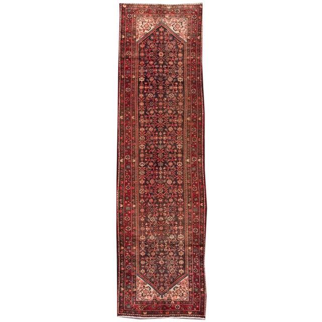 "Apadana - Vintage Persian Rug, 3'8"" x 13'2"" For Sale - Image 5 of 5"