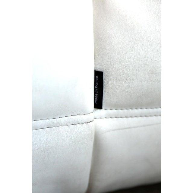 Textile Vintage White Ligne Roset Togo Sofa Set Designed by Michel Ducaroy For Sale - Image 7 of 13