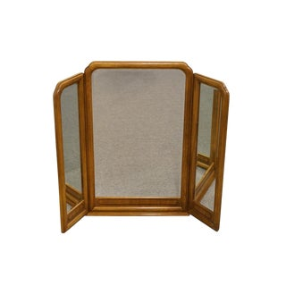 Late 20th Century Vintage Thomasville Furniture Origins Mirror For Sale