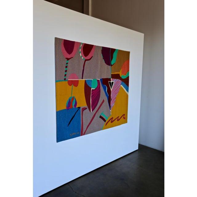 Abstract Modern Art tapestry by Steve Zoller.