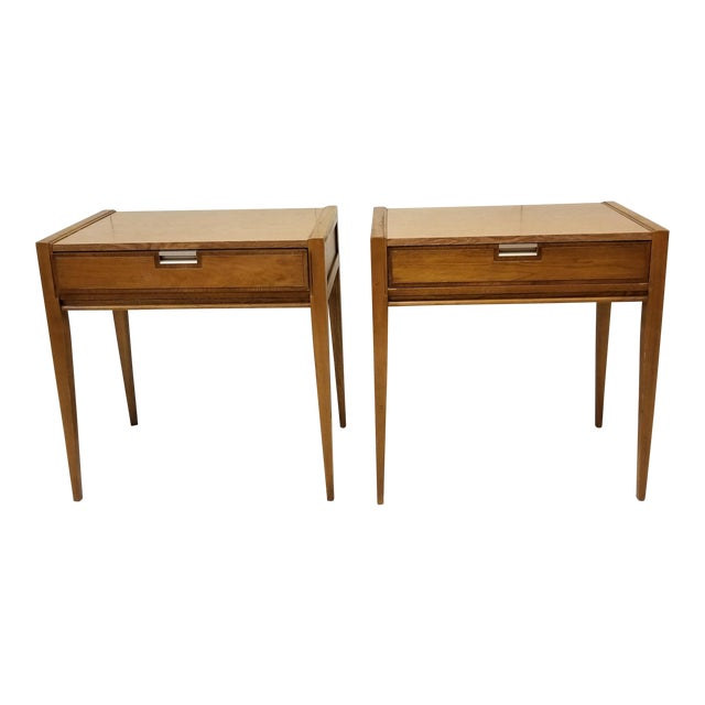 Mid-Century Basic Witz Dressing Tables - A Pair For Sale