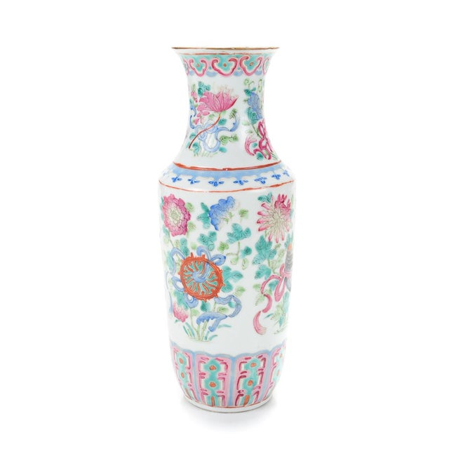 """Chinese 19th Century Porcelain 10"""" Vases - Pair - Image 5 of 9"""