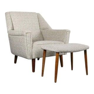 1960s Vintage Kurt Østervig for Rolschau Møbler Chair For Sale