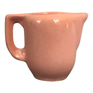 Miniature Usa Pottery Pitcher Creamer For Sale