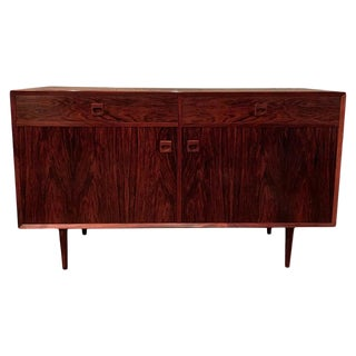 1960s Danish Modern Rosewood Sideboard By E. Brouer for Brouer Møbelfabrik For Sale