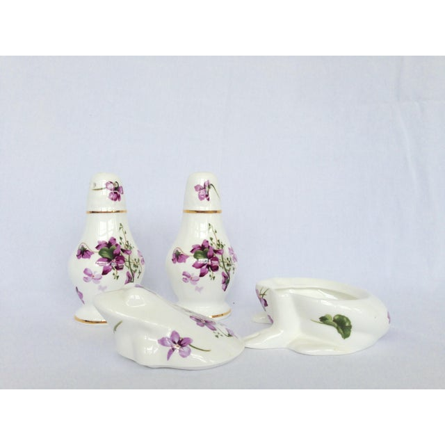 Salt & Pepper Shakers With Sugar Box - Set of 3 - Image 3 of 9
