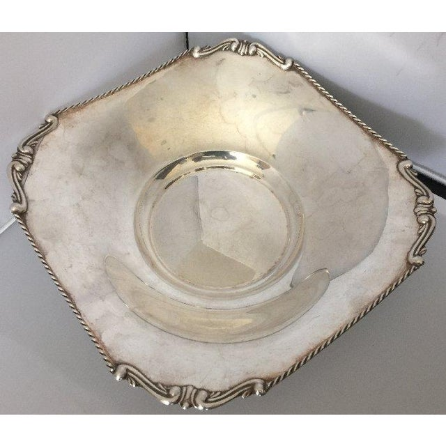 Vintage European Sterling Silver Centerpiece - Image 2 of 5
