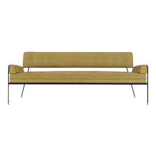 Paul Tuttle Wrought Iron Sofa For Sale
