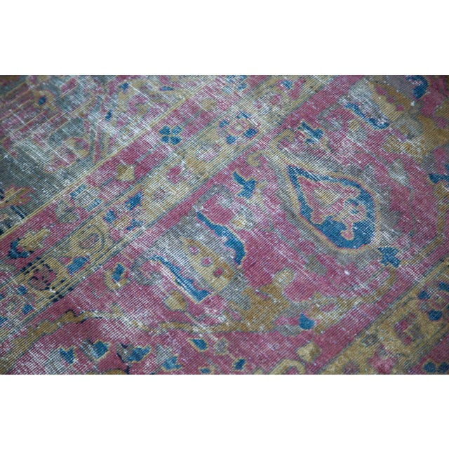 "Distressed Designer Carpet - 8'8"" X 11'10"" For Sale In New York - Image 6 of 10"