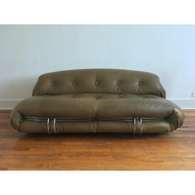 1970s Soriana Sofa by Afra & Tobia Scarpa for Cassina For Sale - Image 13 of 13