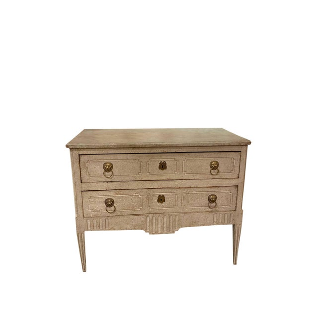 Wood 18th Century Neoclassical Commode For Sale - Image 7 of 12