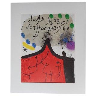 Vintage Ltd. Ed. Joan Miro Lithograph For Sale