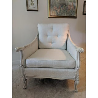 1960's Vintage French Provincial Mint Chair Preview