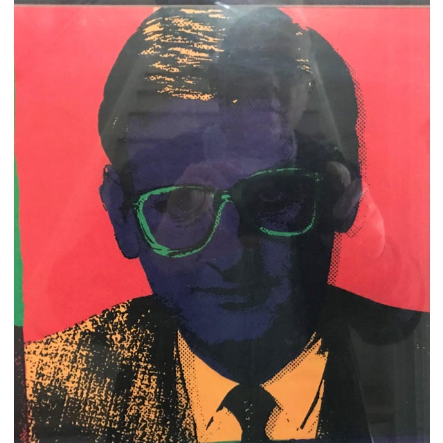Pop Art 1990s Swedish Pop Art Campaign Poster in the Style of Andy Warhol For Sale - Image 3 of 7