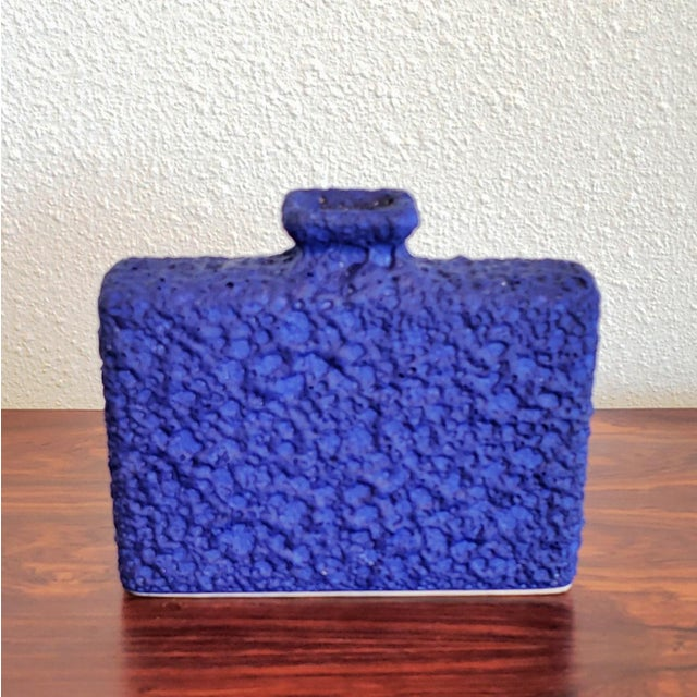 Ceramic Silberdistel Keramik Chimney Vase in Yves Klein Blue 7/18 For Sale - Image 7 of 7