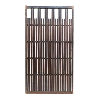 Japanese Machiya Cedar Exterior Panel For Sale