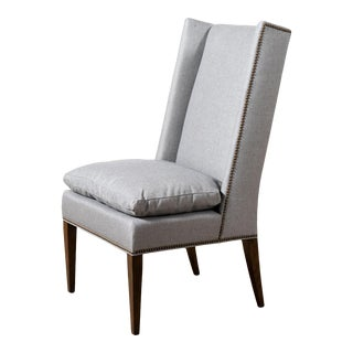 Hickory Furniture Modern Martin Winged Side Chair For Sale