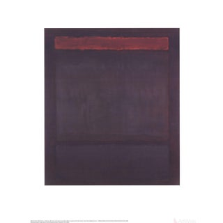 "Mark Rothko ""No. 14"" 2008 Poster For Sale"