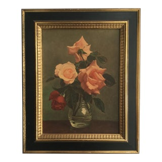 1940s Vintage Framed Turners Homelovers Collection Picture For Sale