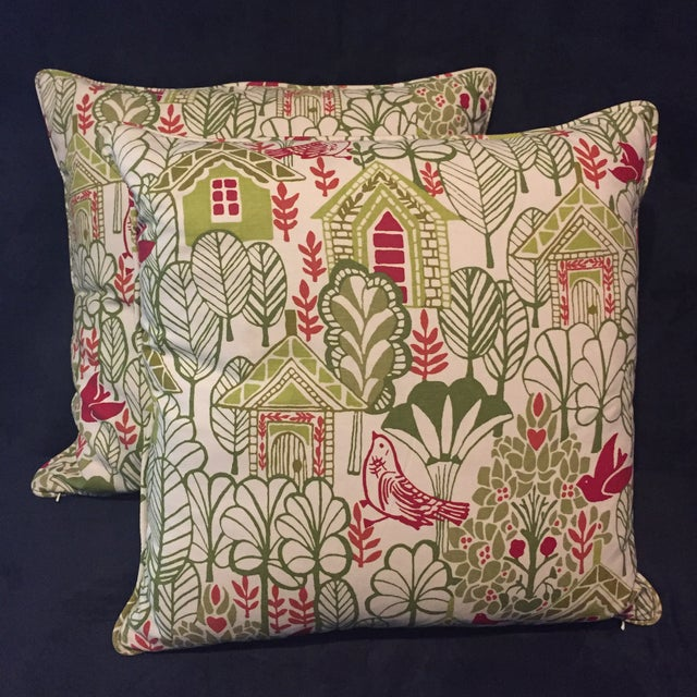 Swedish House Accent Feather Pillows - Image 2 of 6