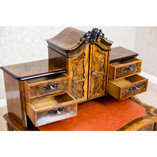 Mid 19th Century 19th Century Writing Desk in the Louis Philippe Style For Sale - Image 5 of 10