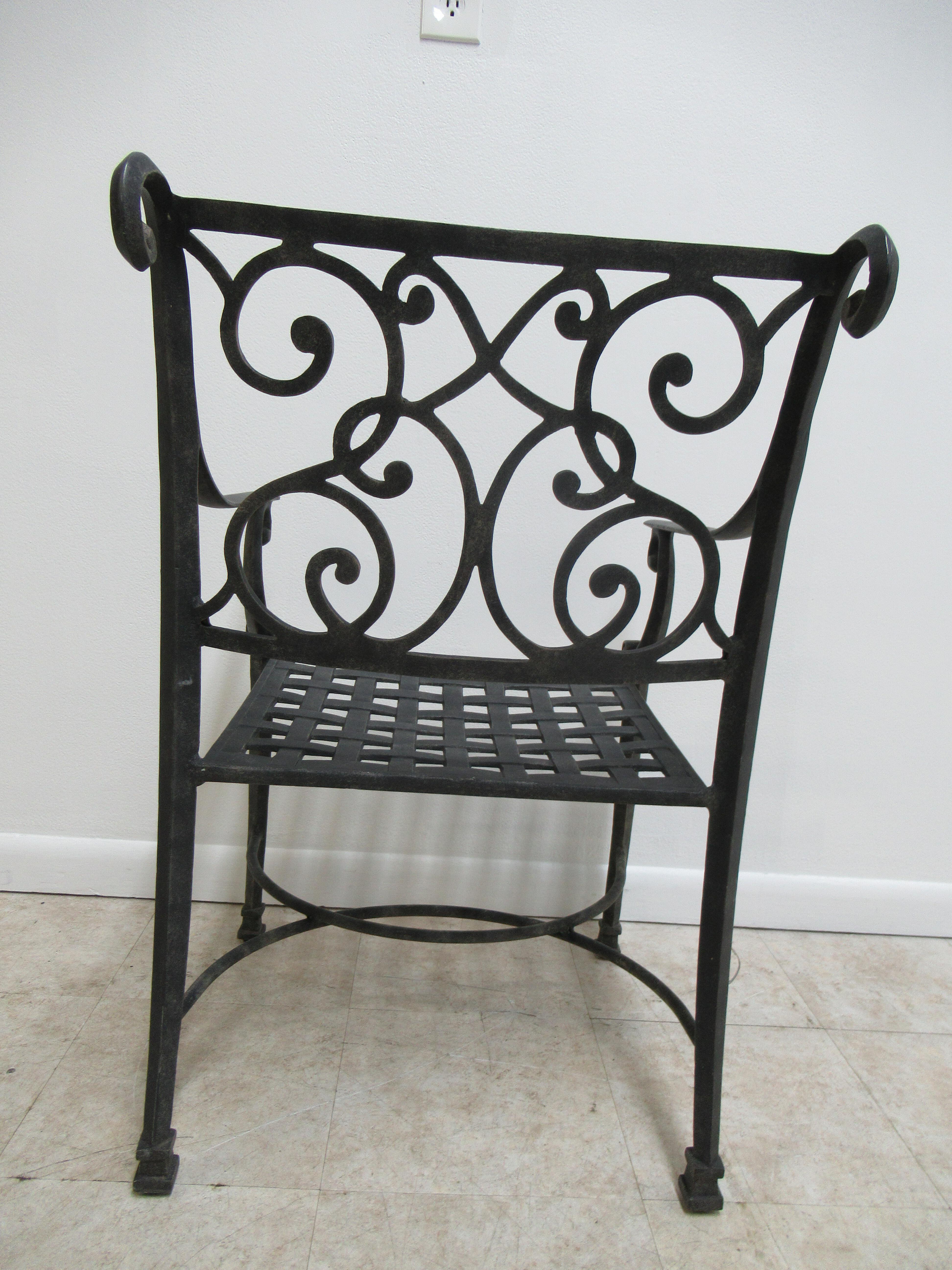 Cast Classics Landgrave Patio Porch Outdoor Swivel Lounge Arm Chair A
