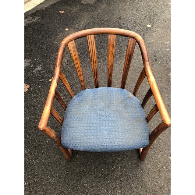 Mid Century Edward Wormley for Drexel Rosewood Club Chair For Sale - Image 10 of 11