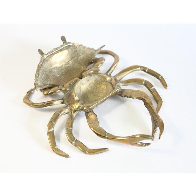 Vintage Brass Crab Figurine - Image 4 of 6