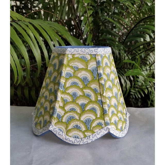 Not Yet Made - Made To Order Lampshade Clip on Brunschwig Fils Fabric For Sale - Image 5 of 10