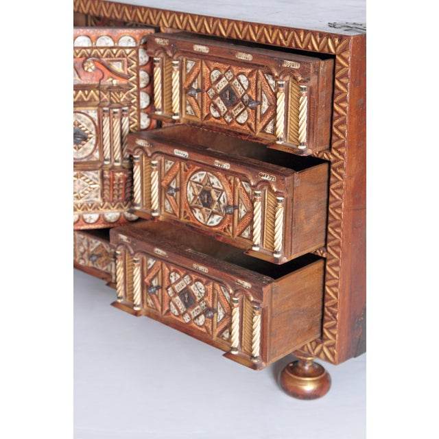 Spanish Bargueno / Portable Desk Cabinet For Sale - Image 4 of 13