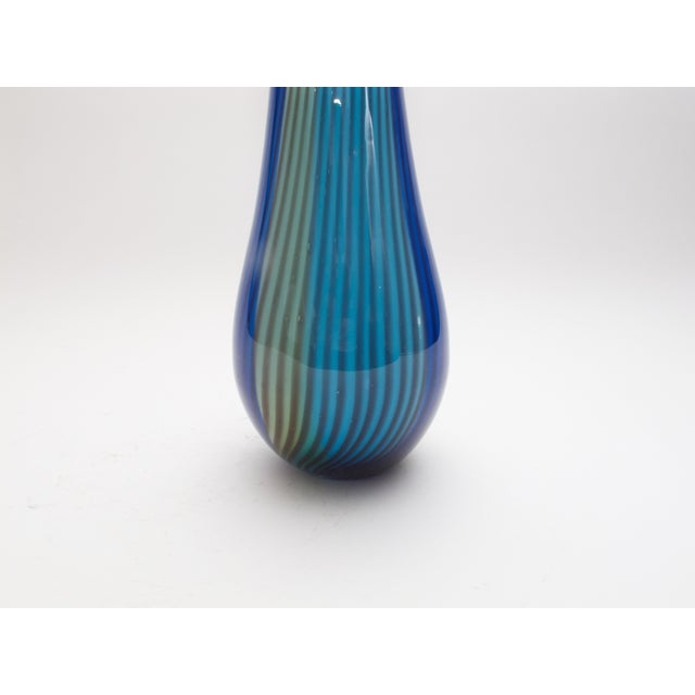 Vintage Italian Art Glass Vase 1950s - Image 4 of 4