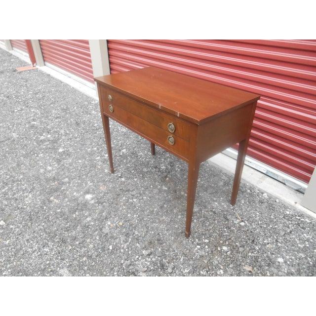 I Have A Very Nice Vintage John Stuart Gany Sheraton Style Writing Desk Vanity