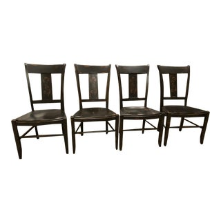 Nichols and Stone Dining Room Chairs - Set of 4 For Sale