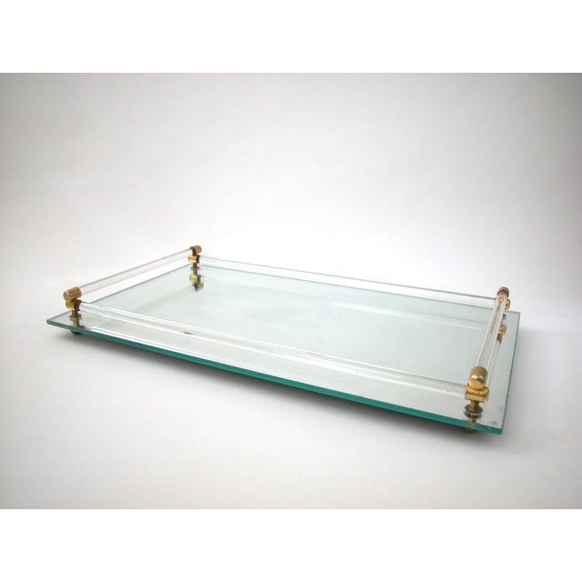 Glass Mirrored Vanity Tray - Image 3 of 9