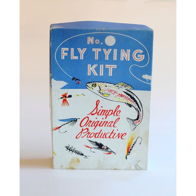 Vintage Fly Tying Kit - Image 2 of 5