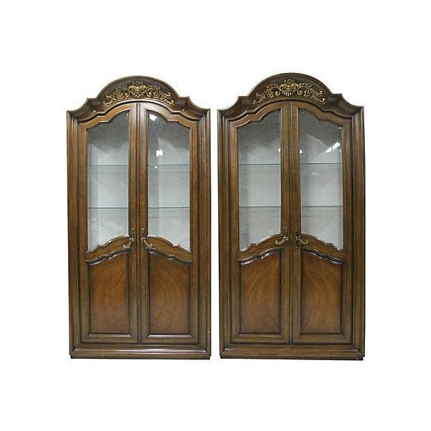 French Style Curios - A Pair - Image 1 of 6
