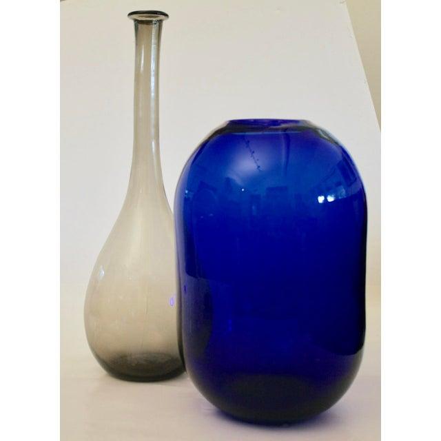 Don Shepherd Blenko 8016 Sculptural Modernist Vase For Sale In Dallas - Image 6 of 9