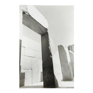 Stone Ruins Photograph