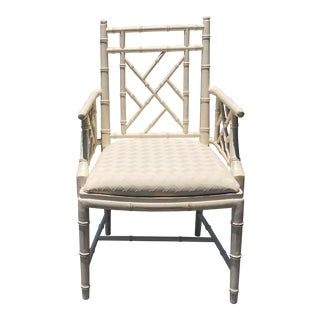 Lane Alta Vista Bamboo Chinese Chippendale Chair For Sale