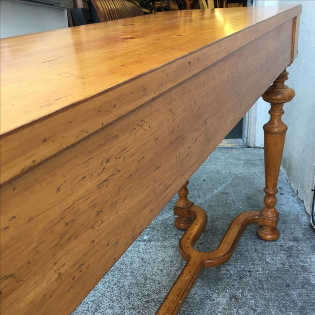 Vintage Style Pine Console - Image 8 of 10