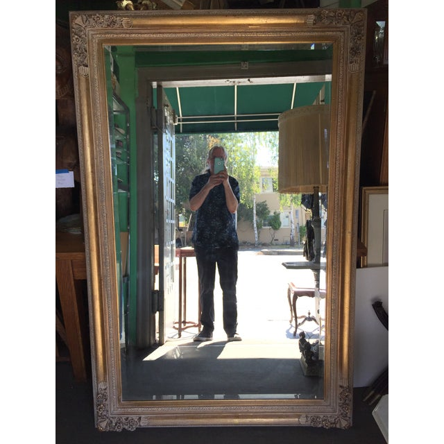 Large Gold Mirror For Sale - Image 13 of 13