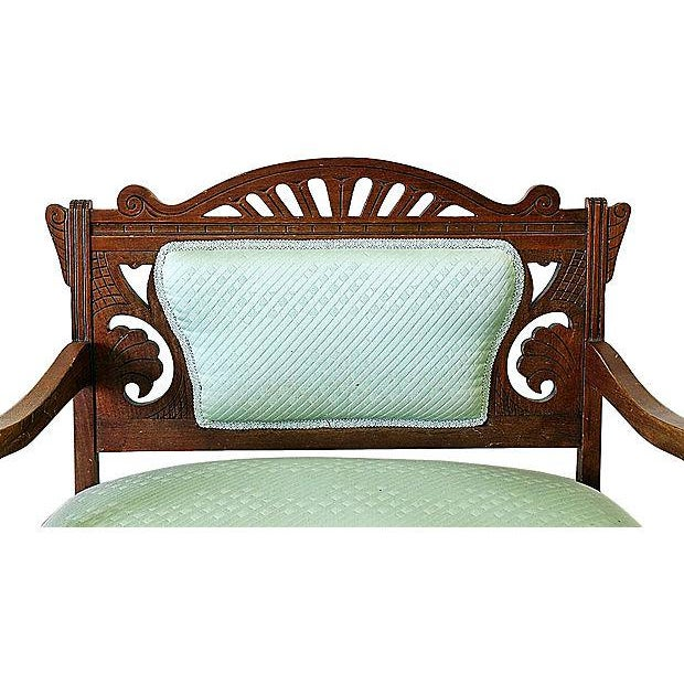 Antique Eastlake Style Settee - Image 3 of 6