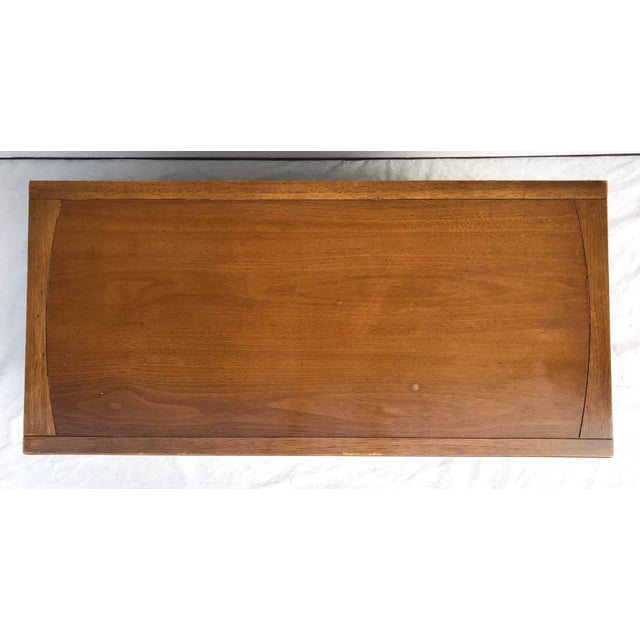 """Here is a wonderful piece made by Drexel in the mid-century, part of the """"Eastrend"""" collection. It has 4 drawers with a..."""