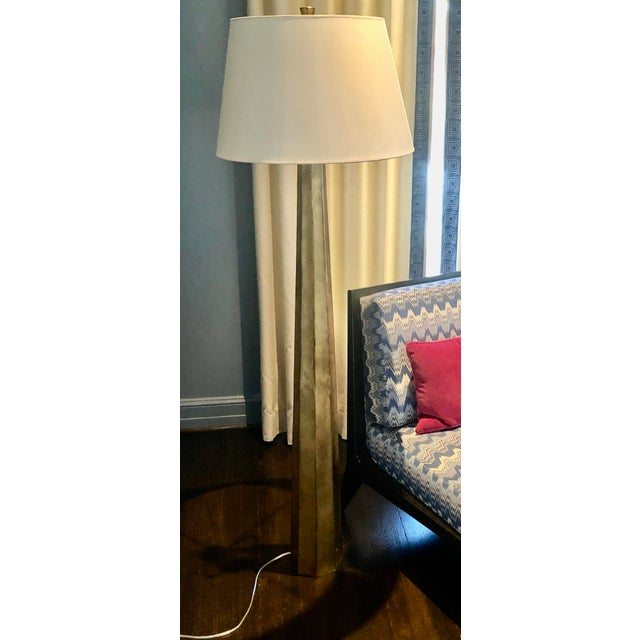E.F. Chapman for Visual Comfort Fluted Spire Floor Lamp For Sale - Image 11 of 11